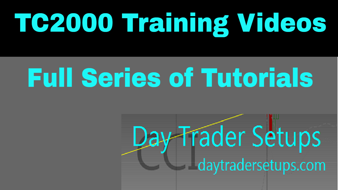 Learn to Paper Trade with Day Traders Setups and TC2000